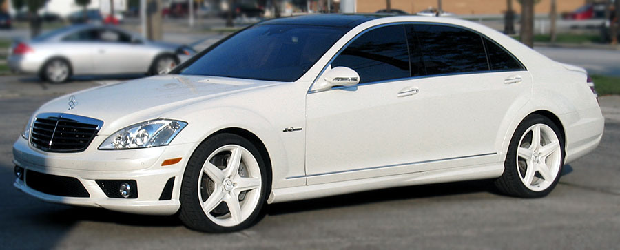 Car owned by LeBron James - Mercedes Benz S63 AMG