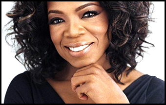 Oprah Winfrey popular businessman