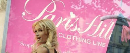 Paris Hilton Fashion Designer