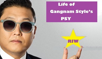 life of Gangnam Style's PSY